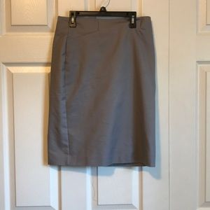 Van Heusen Gray Pencil Skirt